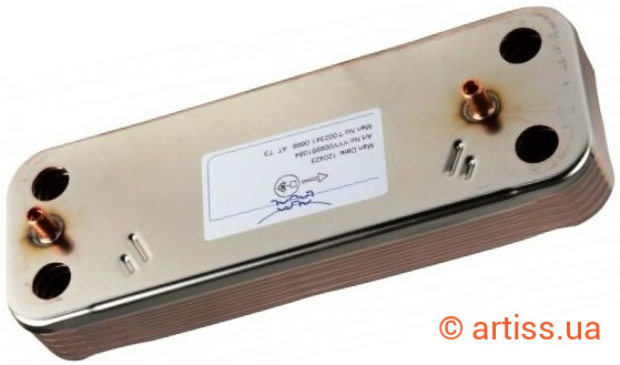 Теплообменник вторичный бакси Паяный пластинчатый теплообменник SWEP B12 Чита