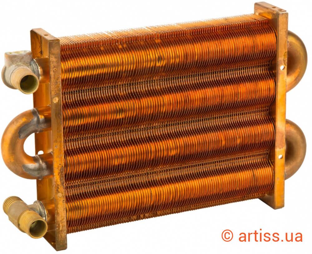 Первичный теплообменник в газовом котле купить теплообменники с ребристыми трубами
