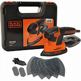 Дельташлифмашинка Black&Decker KA2500K-QS