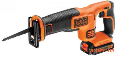 Фото сабельная пила black&decker bdcr18-qw