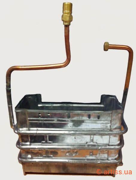 Продажа колонок на теплообменнике STEELTEX THERMO SPRAY - Очиститель камеры сгорания Гатчина