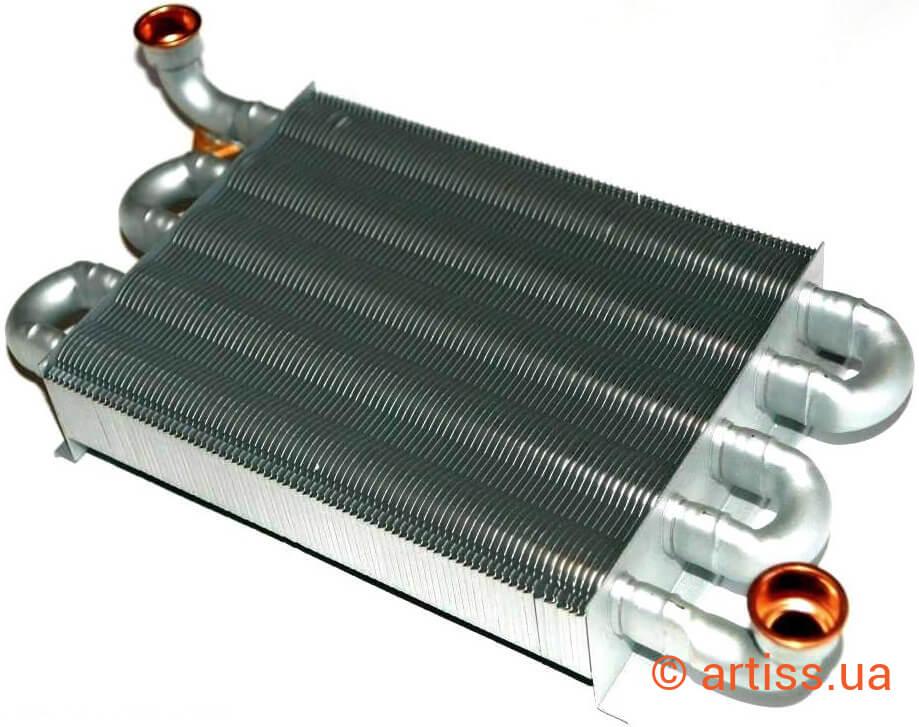 Купить первичный теплообменник на котел бакси Кожухотрубный конденсатор ONDA C 56.304.2400 Канск