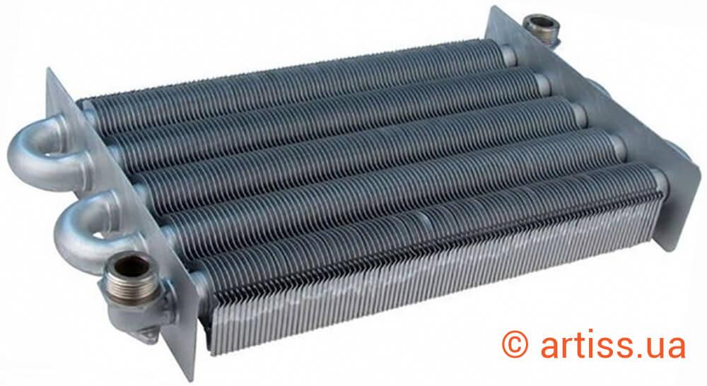 Теплообменник для двухконтурного котла ariston схема подключения пластинчатого теплообменника для гвс