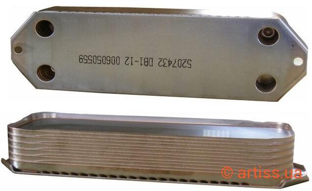 Купить теплообменник для котла viessmann Кожухотрубный конденсатор Alfa Laval CDEW-400 T Уссурийск