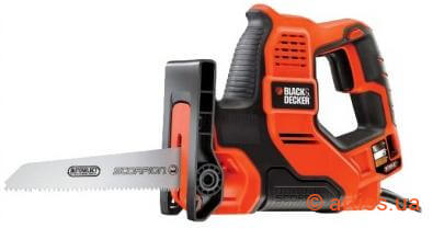 Фото сабельная пила black&decker rs890k-qs